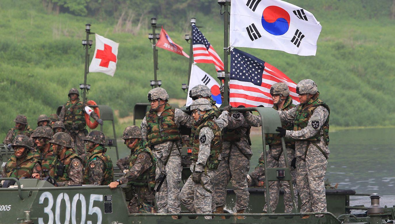 Waszyngton i Seul rozmawiały o podziale kosztów obrony (fot. Chung Sung-Jun/Getty Images)