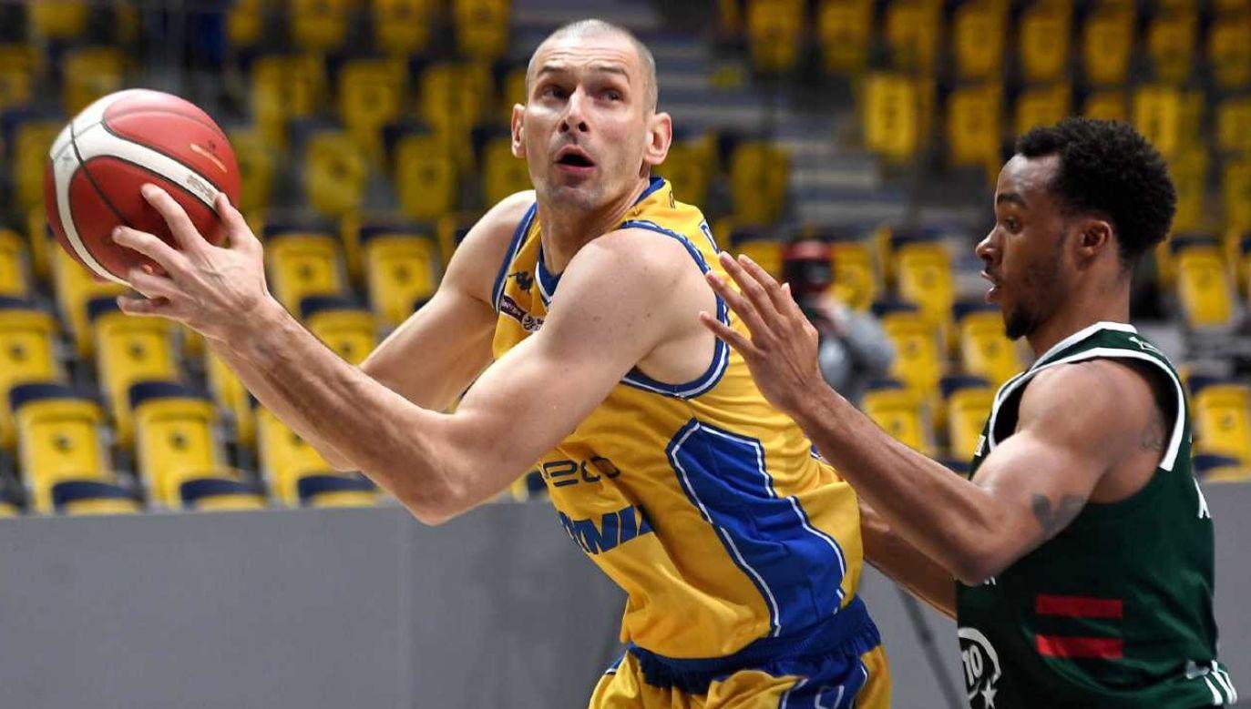 Filip Dylewicz w ekstraklasie zadebiutował w sezonie 1997/98 (fot. PAP/Marcin Gadomski)