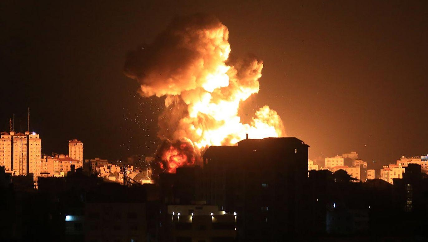 Próby załagodzenia konfliktu nie przynoszą efektów (fot. Ashraf Amra/Anadolu Agency via Getty Images)