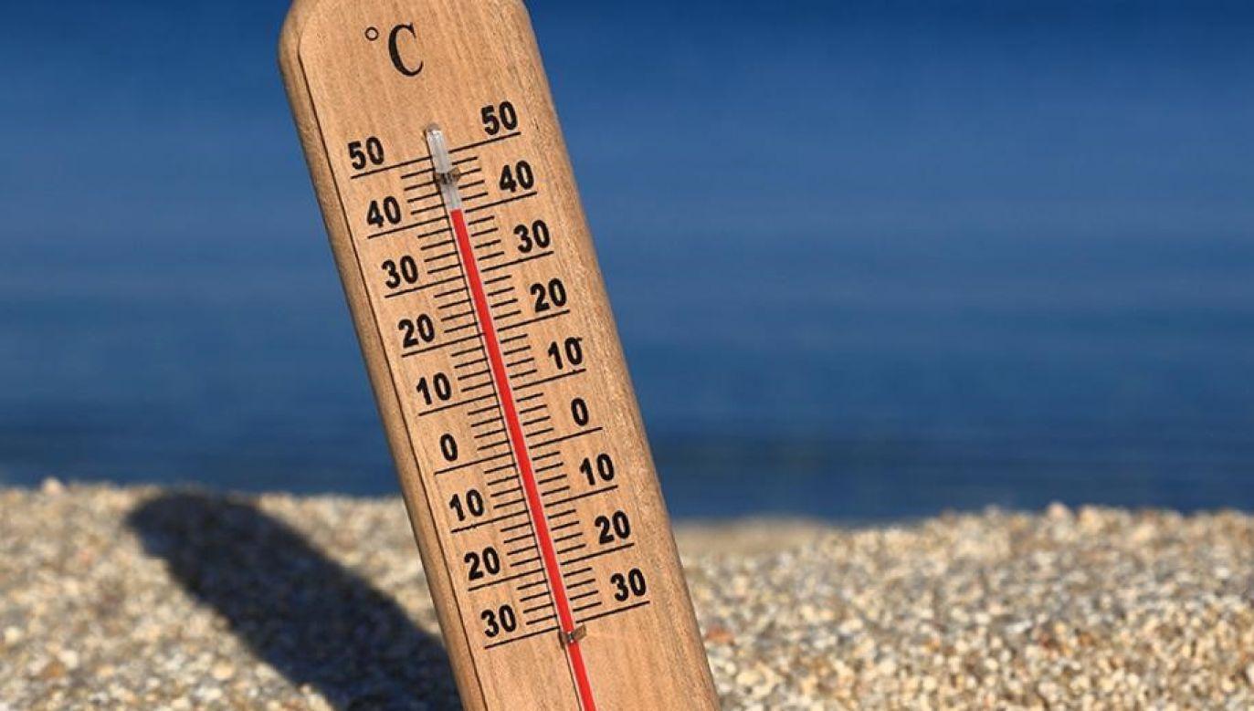 Najwyższa temperatura spodziewana jest na zachodzie kraju (fot. MSWiA)
