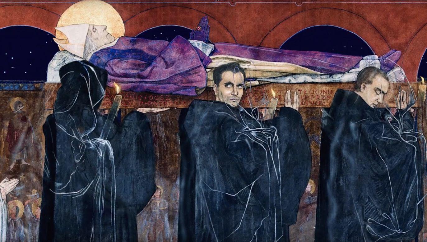 """Kadr z filmu  """"Przebudzone spojrzenia"""" (fot. YT/Instytut Polonika)"""