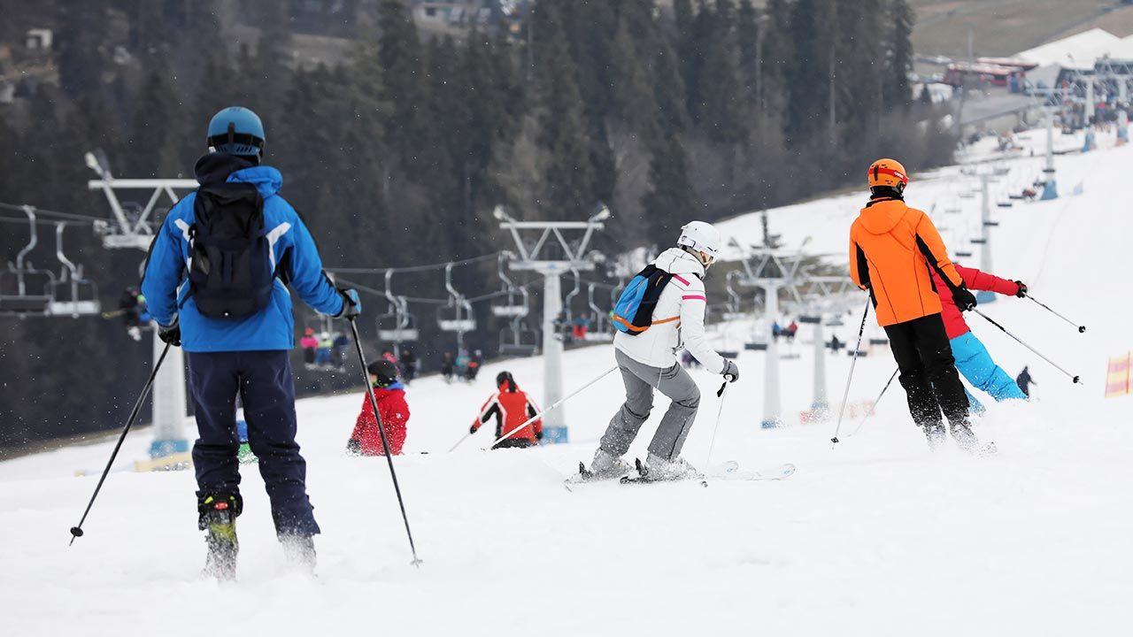 Stoki narciarskie będą zimą otwarte (fot. PAP/Grzegorz Momot)