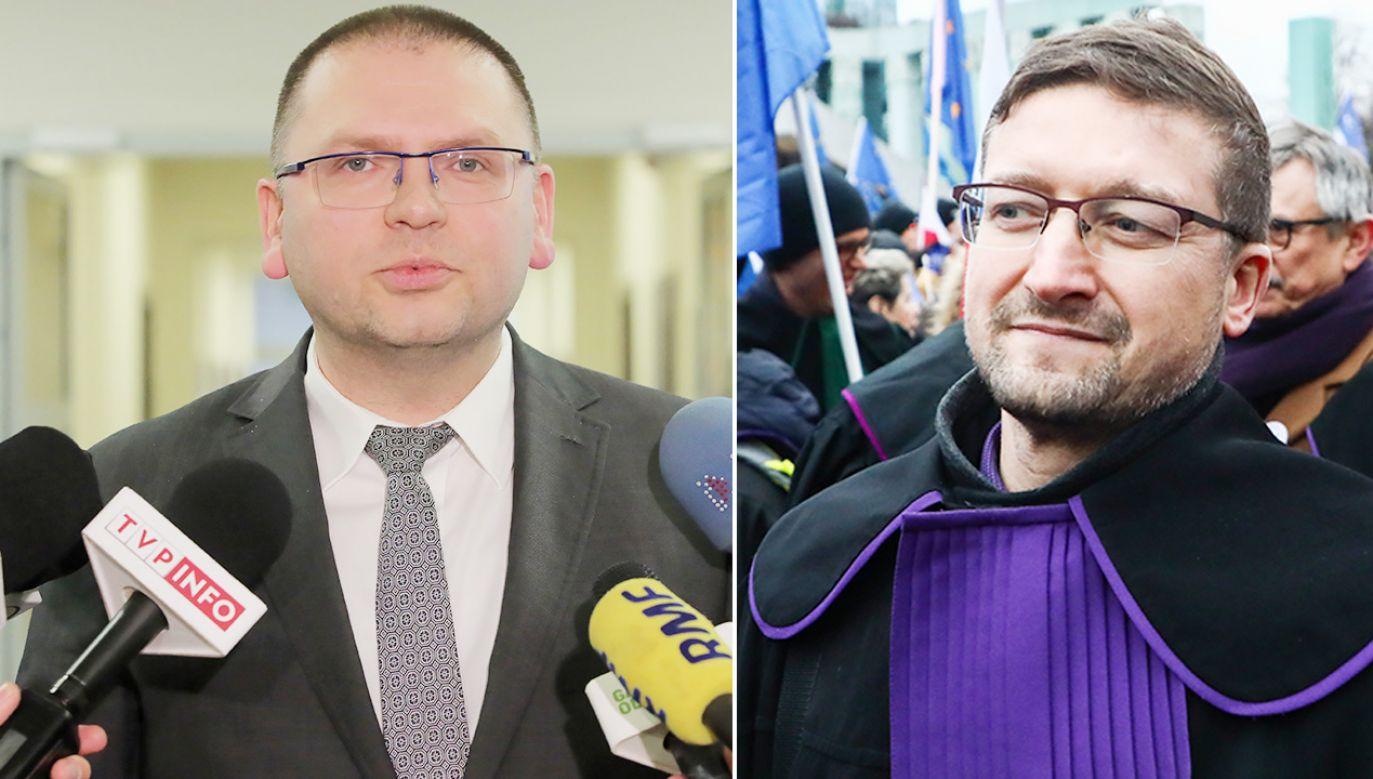 Według prezesa Nawackiego w sprawie Juszczyszyna zaistniał spór kompetencyjny (fot. PAP/Tomasz Waszczuk; Beata Zawrzel/NurPhoto via Getty Images)