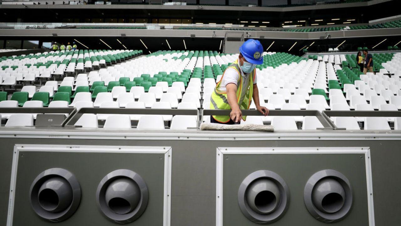Do pracy przy budowie infrastruktury na mundial przyjechało około 2 miliony migrantów (fot. F.Nel/Getty Images)
