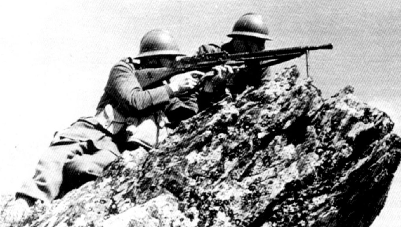 Żołnierze Samodzielnej Brygady Strzelców Podhalańskich  podczas bitwy o Narwik (fot. wikipedia.org)