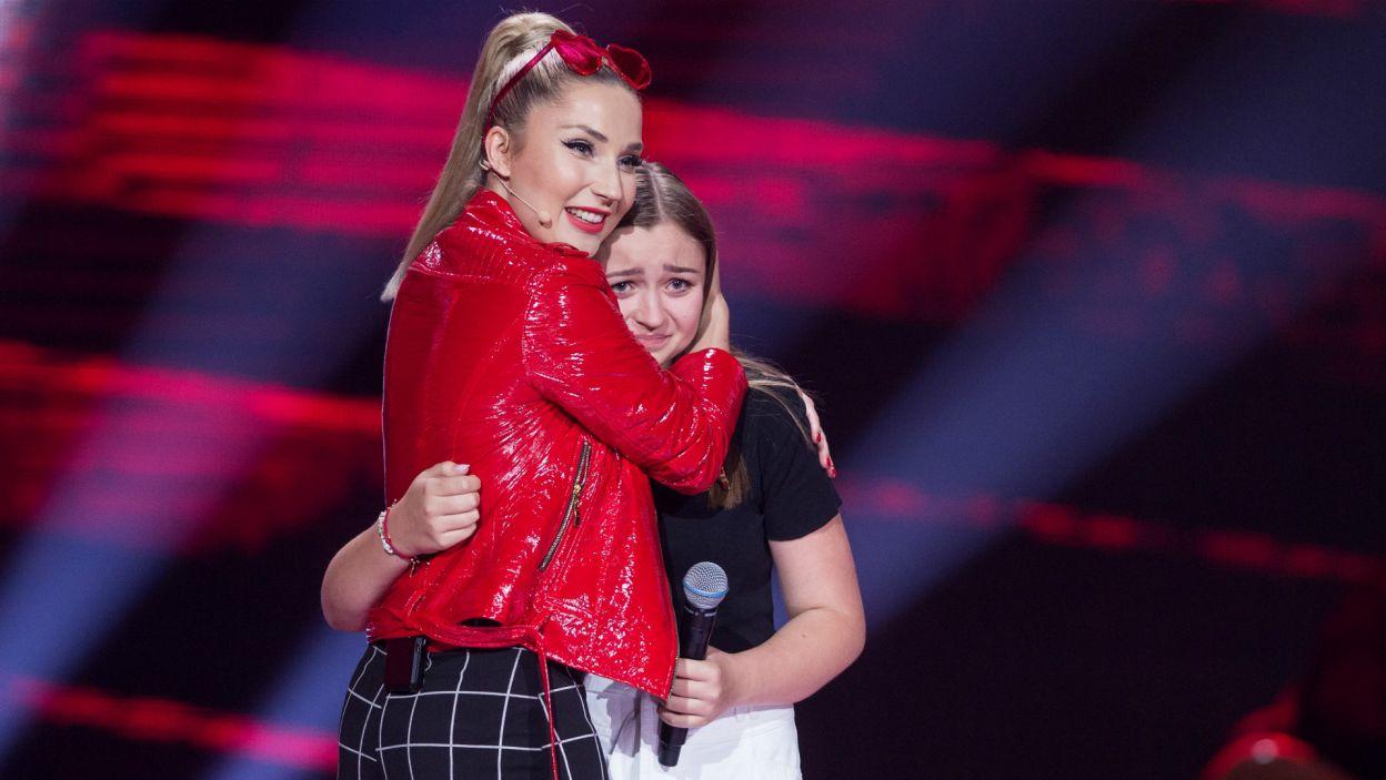 Po występie pojawiły się łzy. Ale były to wyłącznie łzy szczęścia! (fot. TVP)