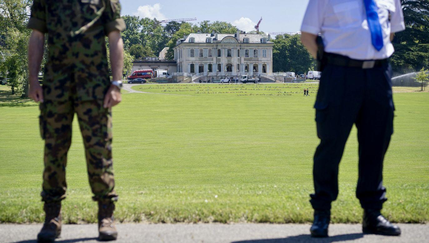 Willa, w której spotkają się Biden i Putin, została zabezpieczona (fot. PAP/EPA/MARTIAL TREZZINI)