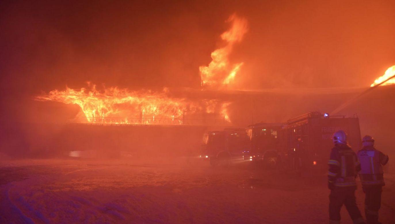 Żaden eksponat nie przetrwał pożaru (fot. Feuerwehr Langenfeld)