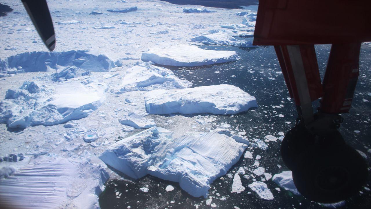 Pokrywa lodowa w Arktyce stale maleje (fot.Joe Raedle/Getty Images)