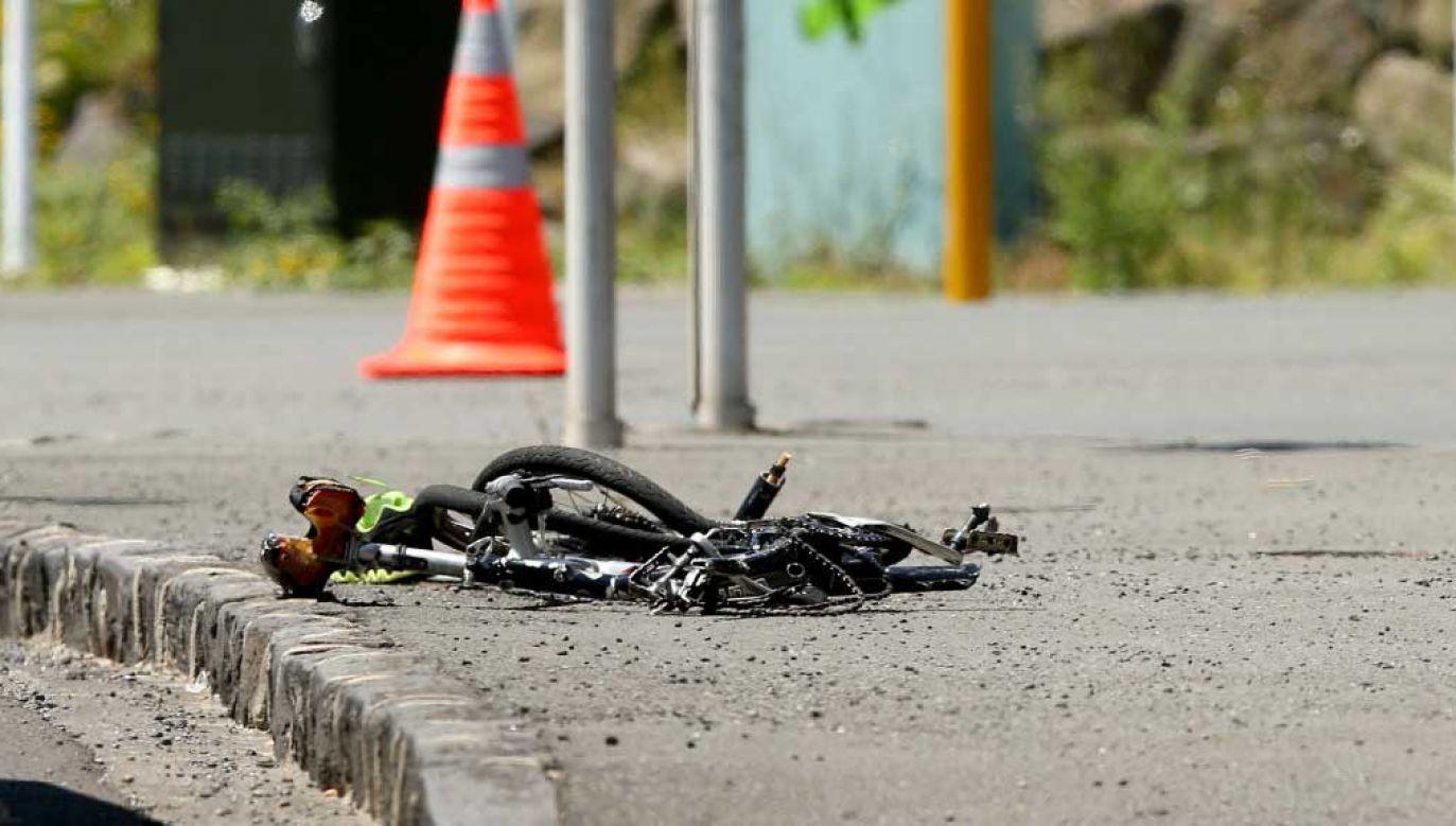 Nieznana jest tożsamość rowerzysty (fot. Phil Walter/Getty Images; zdjęcie ilustracyjne)