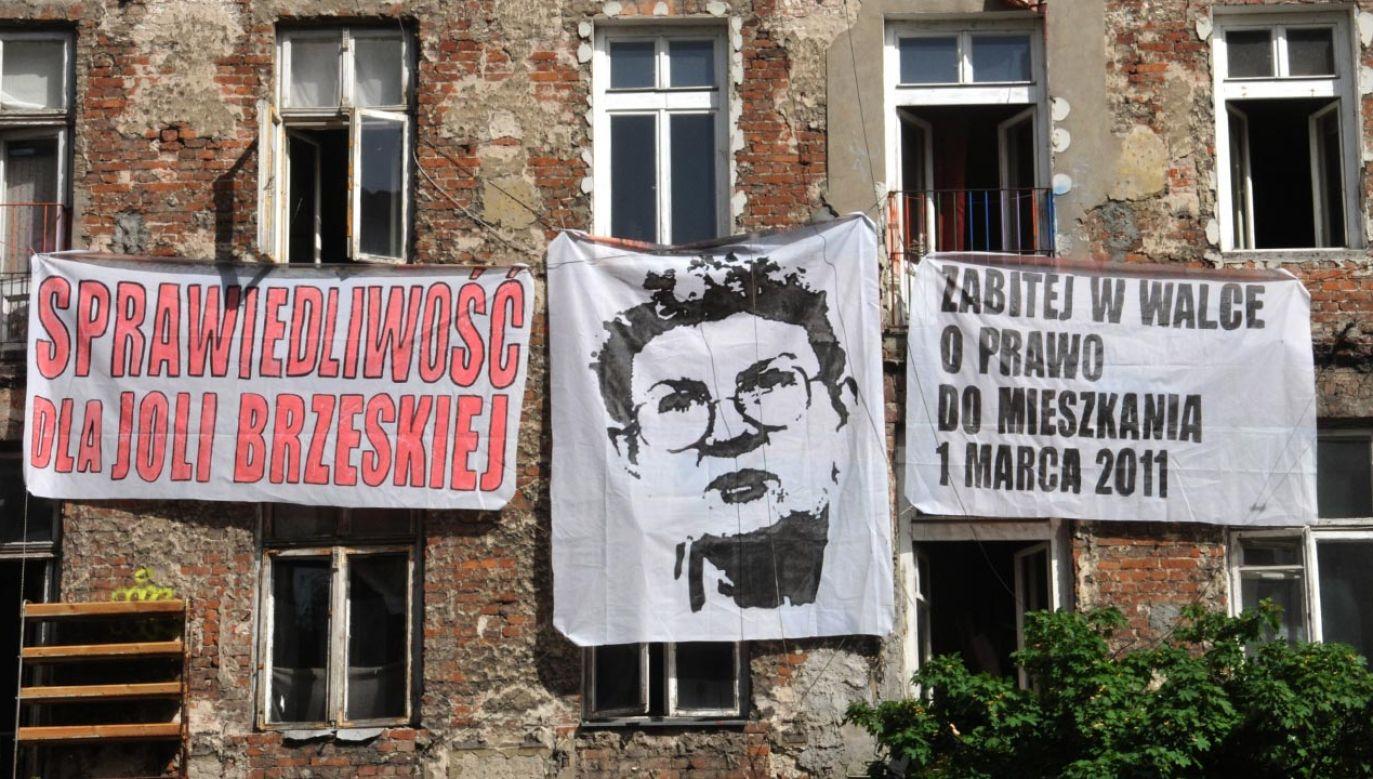 Kolejne podejście do uhonorowania Jolanty Brzeskiej (fot. arch. Forum/Wlodzimierz Wasyluk)