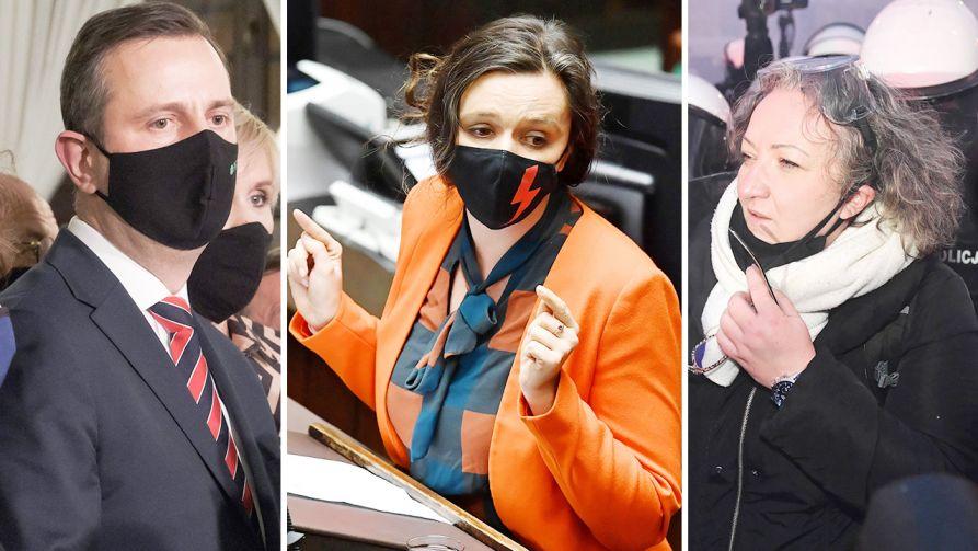 Polityczny Przegląd Tygodniowy (fot. PAP/Mateusz Marek; Radek Pietruszka)