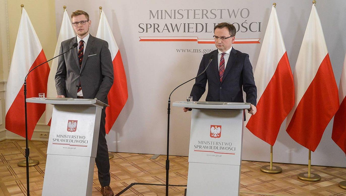 Rekonstrukcja rządu (fot. PAP/Stach Leszczyńsk)