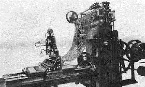Maszyna tkacka opatentowana przez Jana Szczepanika. Fot. Wikimedia Commons/autor nieznany - http://www.tarnow.pl/szczepanik/wynalazki.php, domena publiczna