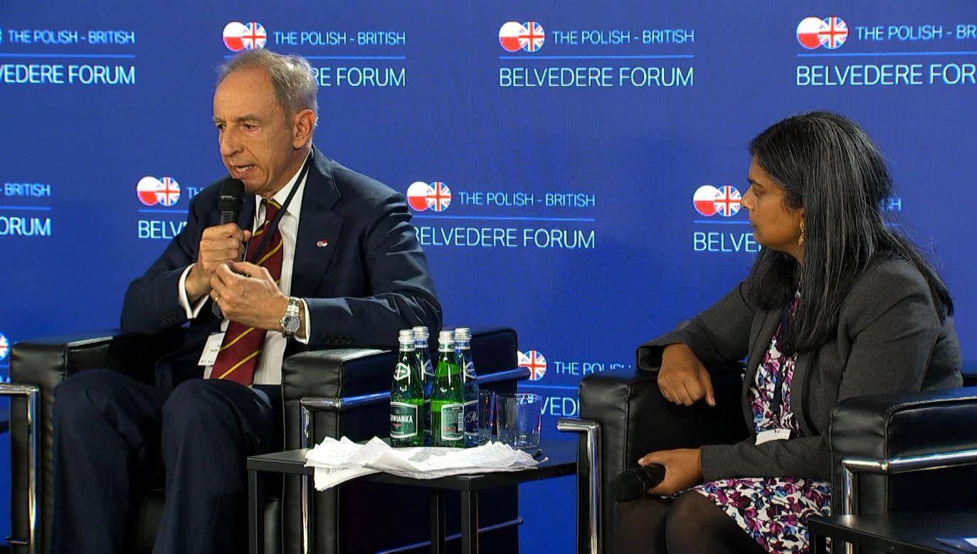Władysław Teofil Bartoszewski speaking of Polish-British Relationship, Photo: PolandIN