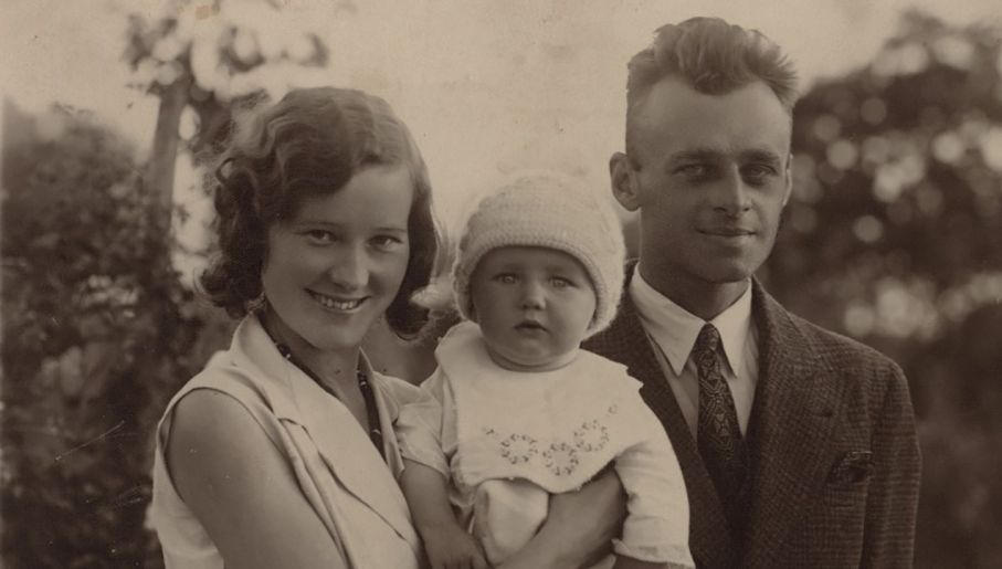 Witold Pilecki mógł wyjechać z Polski, ale został m.in. ze względu na rodzinę (fot. IPN)