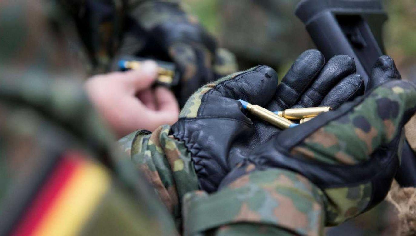 Broń i amunicja nie pochodziły z zasobów Bundeswehry (fot. Bundeswehry)