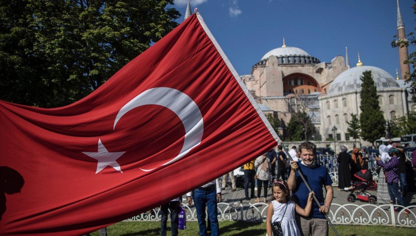 Kościół Mądrości Bożej (Hagia Sophia) znów stanie się meczetem (fot. PAP/EPA/ERDEM SAHIN)