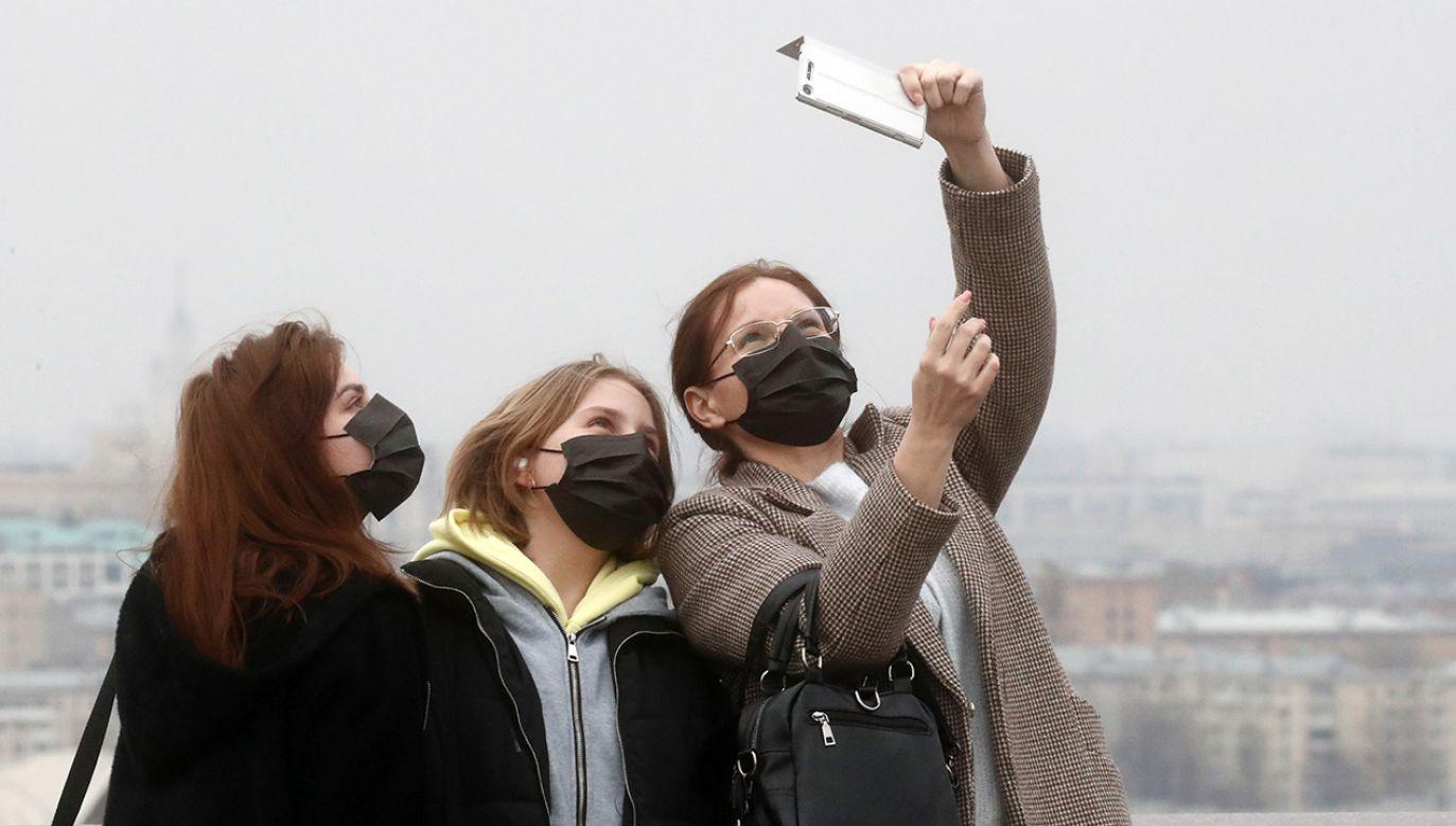 GIS przestrzega przed narażaniem zdrowia i życia (fot. Sergei Fadeichev\TASS via Getty Images)