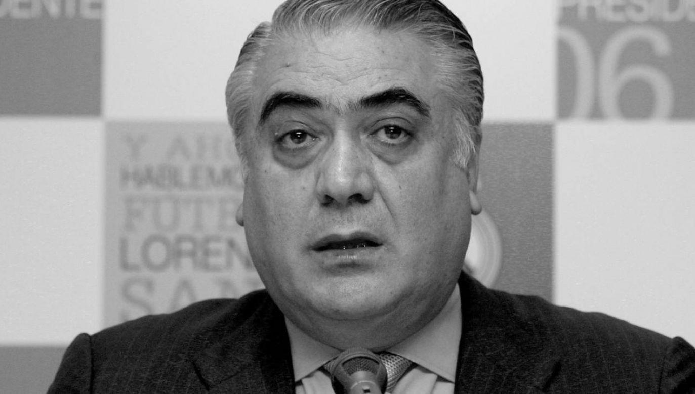 Lorenzo Sanz miał 76 lat (fot. PAP/EPA/BERNARDO RODRIGUEZ )