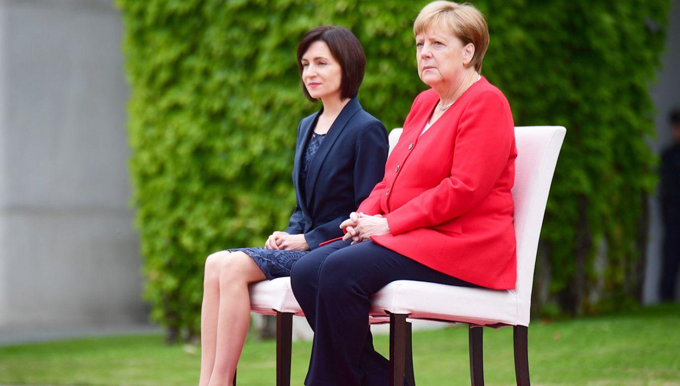 Dokładna przyczyna dolegliwości niemieckiej polityk nie jest znana (fot. PAP/EPA/CLEMENS BILAN)