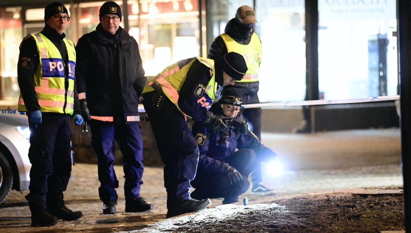 Nożownik z Afganistanu został aresztowany w Szwecji (fot. PAP/EPA/Mikael Fritzon)