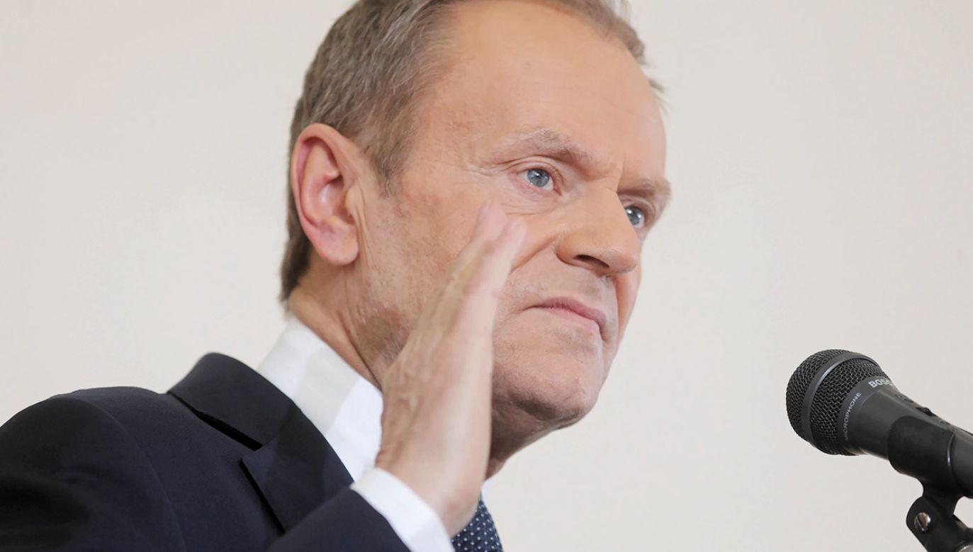Zwolennicy Donalda Tuska liczyli na jego powrót do krajowej polityki (fot. arch. PAP/Artur Reszko)