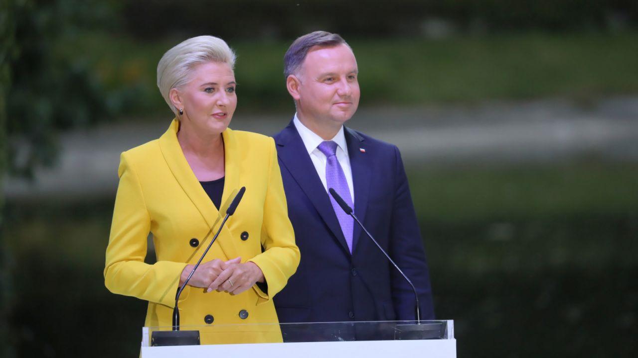 Jak mówiła pierwsza dama, polskie nowele czytano dziś w ponad trzech tysiącach miejsc w Polsce i 31 krajach świata (fot. PAP/Tomasz Gzell)