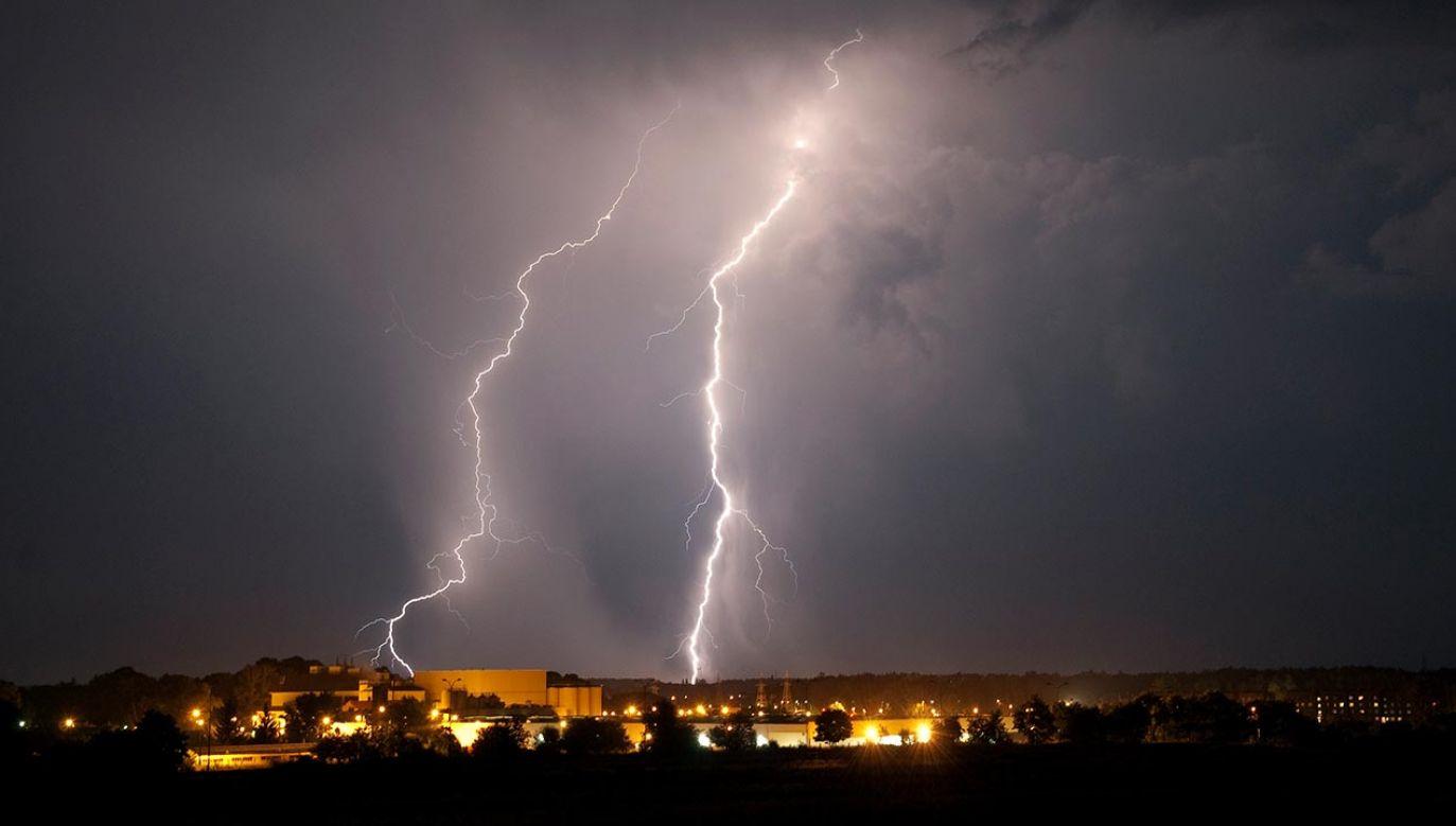 Poniedziałek pod znakiem burz (fot. Forum/Agencja Wschod)