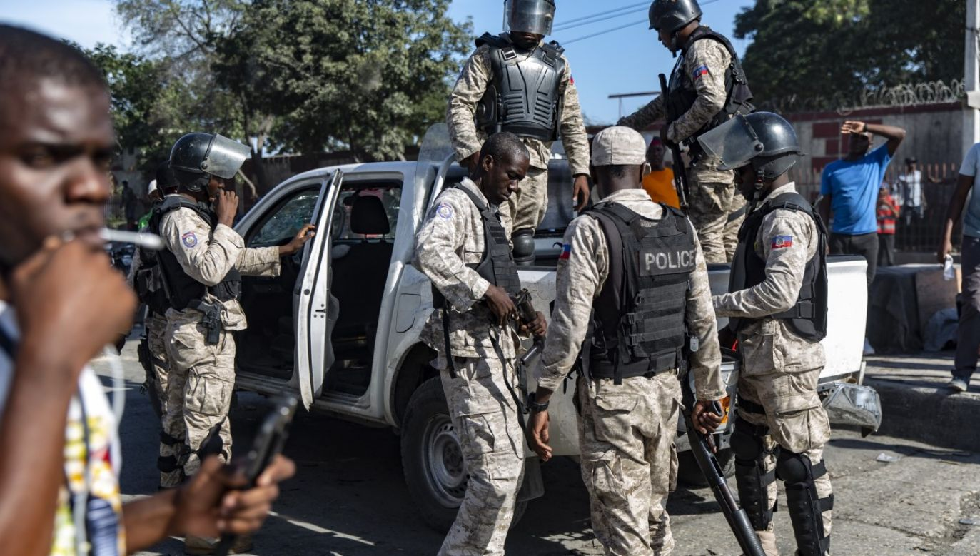 Według policji za porwaniem stoi znany gang (fot. Adam DelGiudice/SOPA Images/LightRocket via Getty Images, zdjęcie ilustracyjne)
