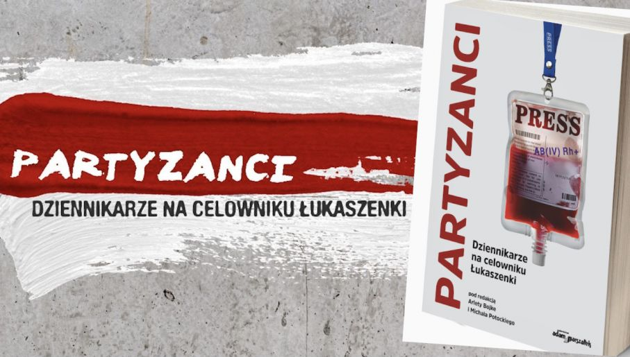 Książka o białoruskich dziennikarzach (fot. Materiały prasowe)