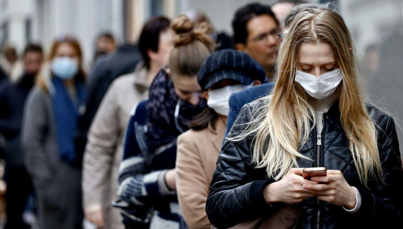 Litwa jest na drugim miejscu pod względem liczby zakażeń koronawirusem na 100 tys. mieszkańców (fot. Chesnot/Getty Images)