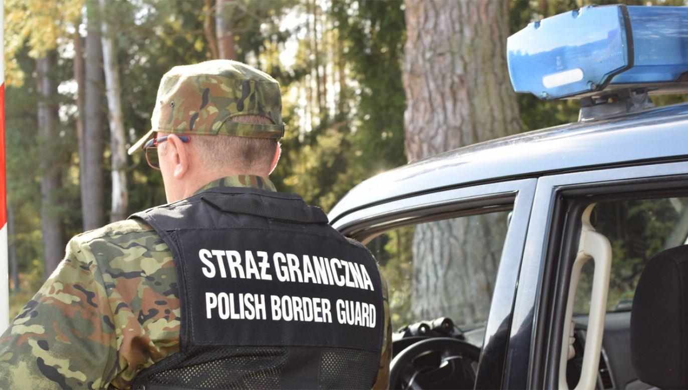 Do zatrzymań doszło w Hajnówce, Nowosadach, Białymstoku, Wiśniewie i Straży (fot. tt/@Straz_Graniczna)