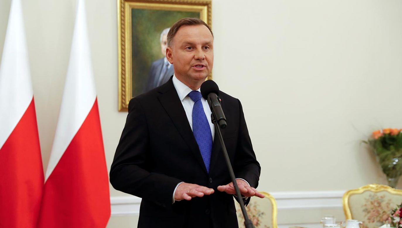 Zakończyło się spotkanie prezydenta z premierem (fot. REUTERS/Aleksandra Szmigiel)