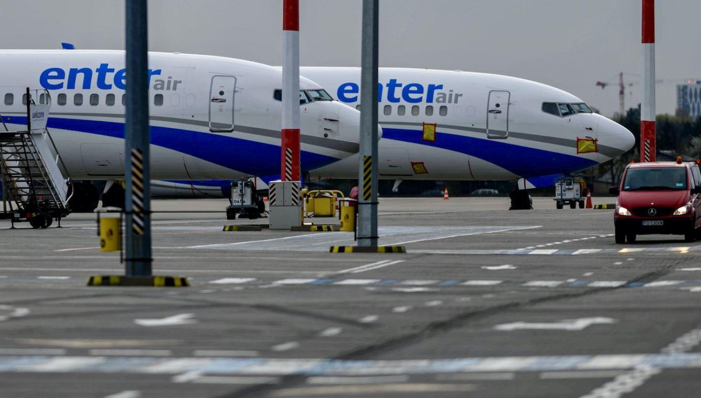 Samolot lądował w Etiopii (fot. arch.PAP/Jakub Kaczmarczyk, zdjęcie ilustracyjne)