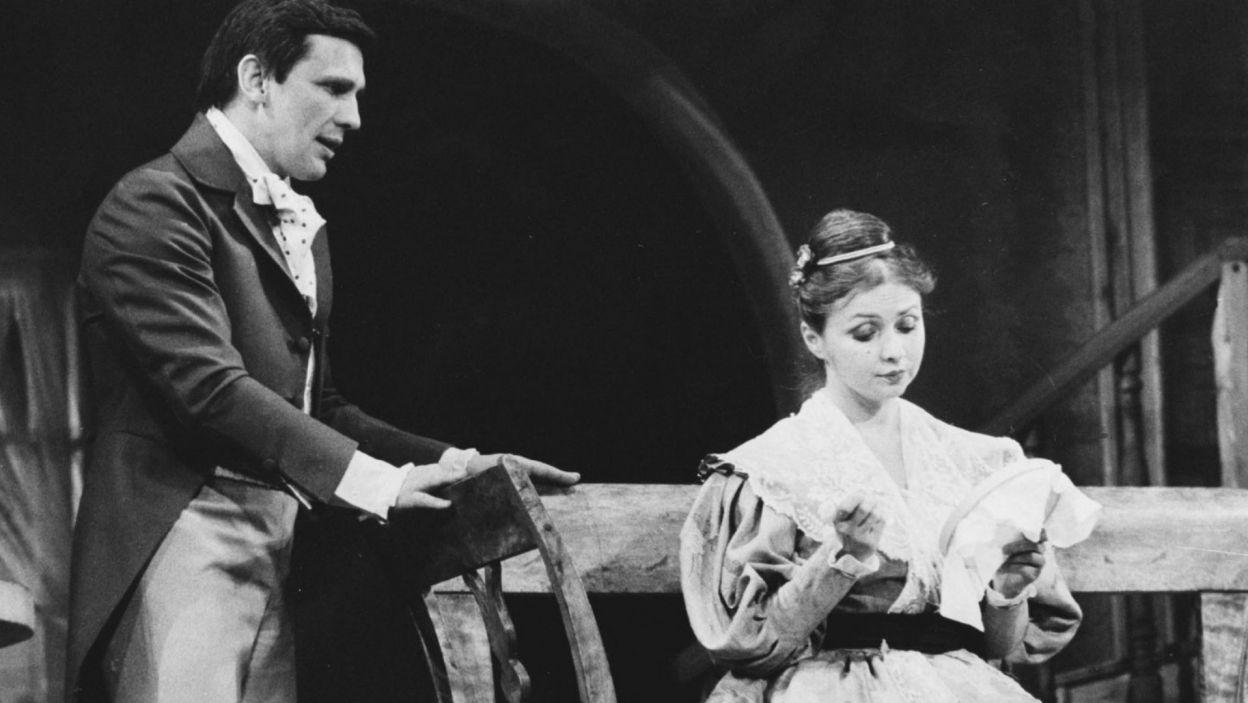 Gustawa w tej samej sztuce zagrał w 1985 r. w spektaklu reżyserii Andrzeja Łapickiego, zarejestrowanym w Teatrze Polskim w Warszawie (fot. TVP)