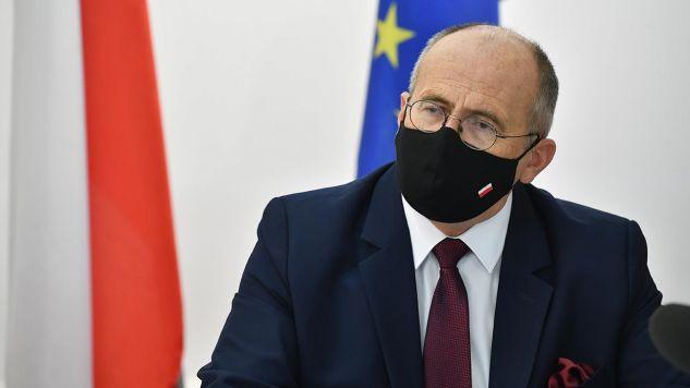 Szef dyplomacji odniósł się do zarzutów opozycji (fot. PAP/Radek Pietruszka)