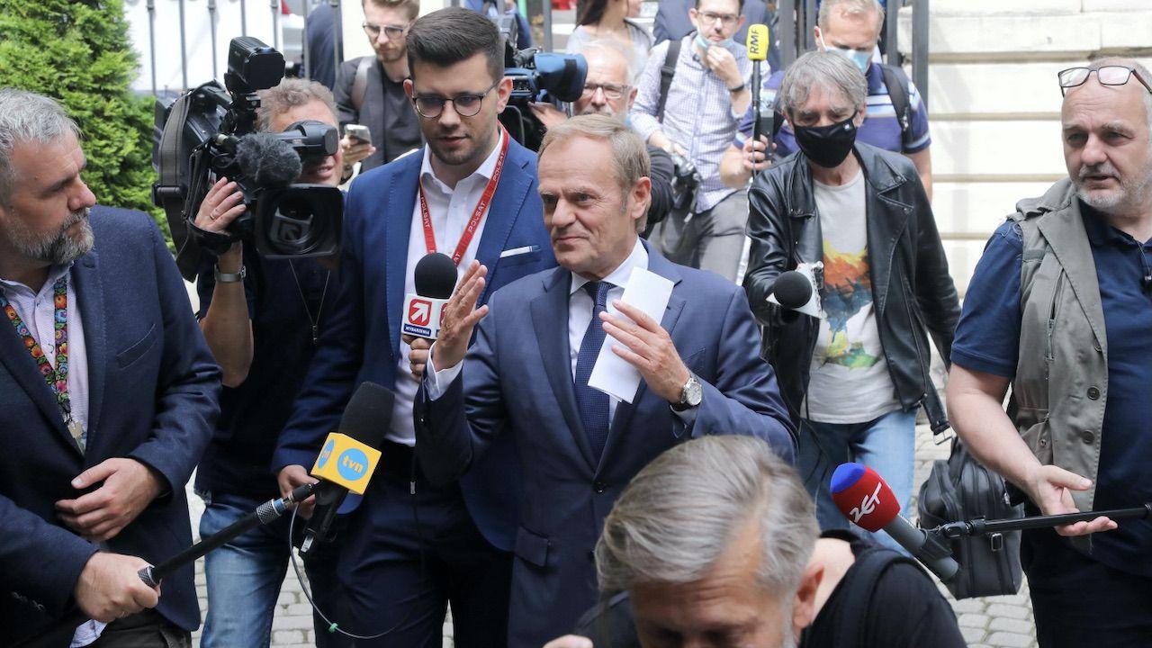Donald Tusk (fot. PAP/Wojciech Olkuśnik)