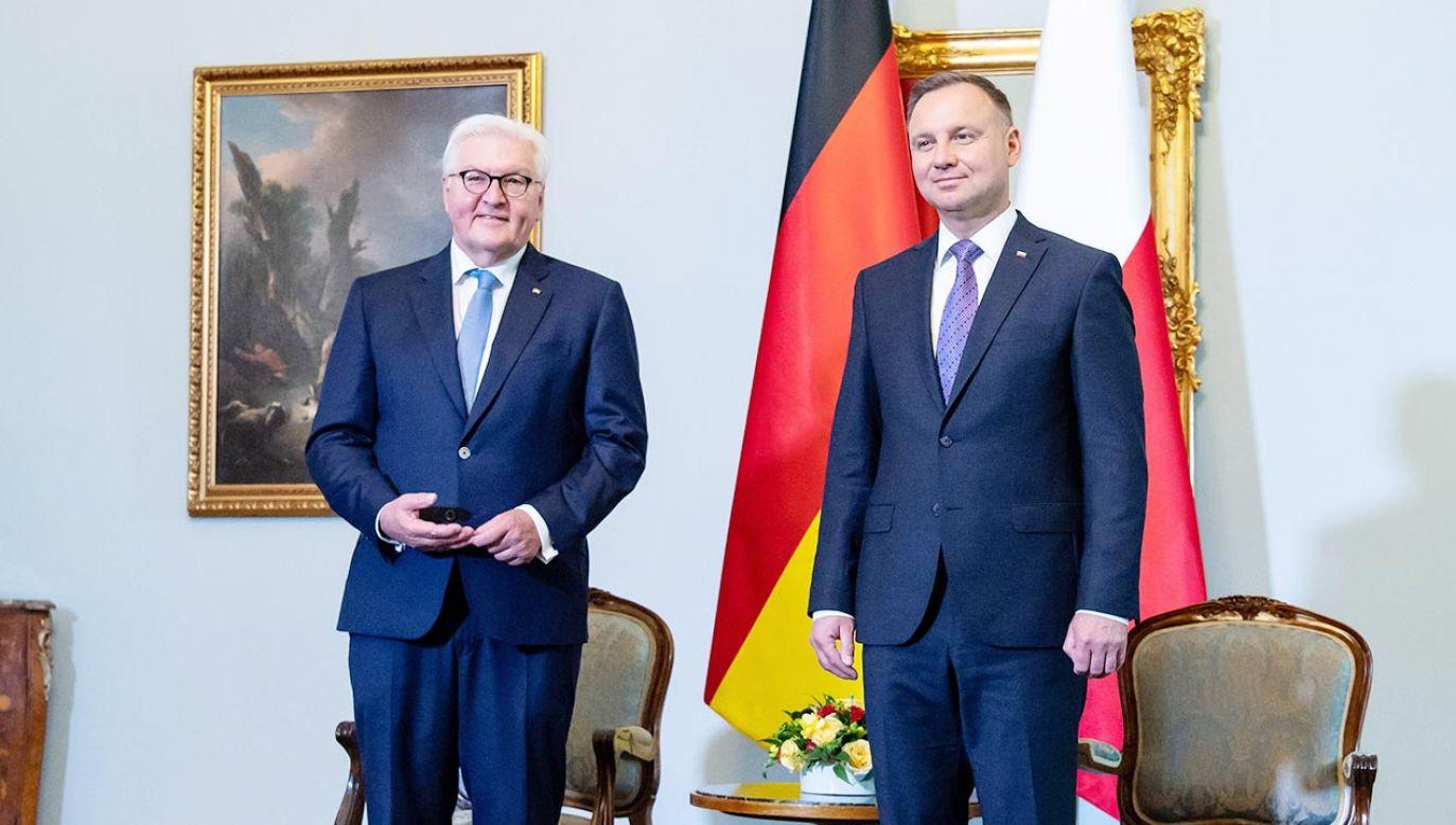 Prezydent Andrzej Duda o domniemanych kontrolach na polsko -niemieckiej granicy (fot. PAP/DPA)