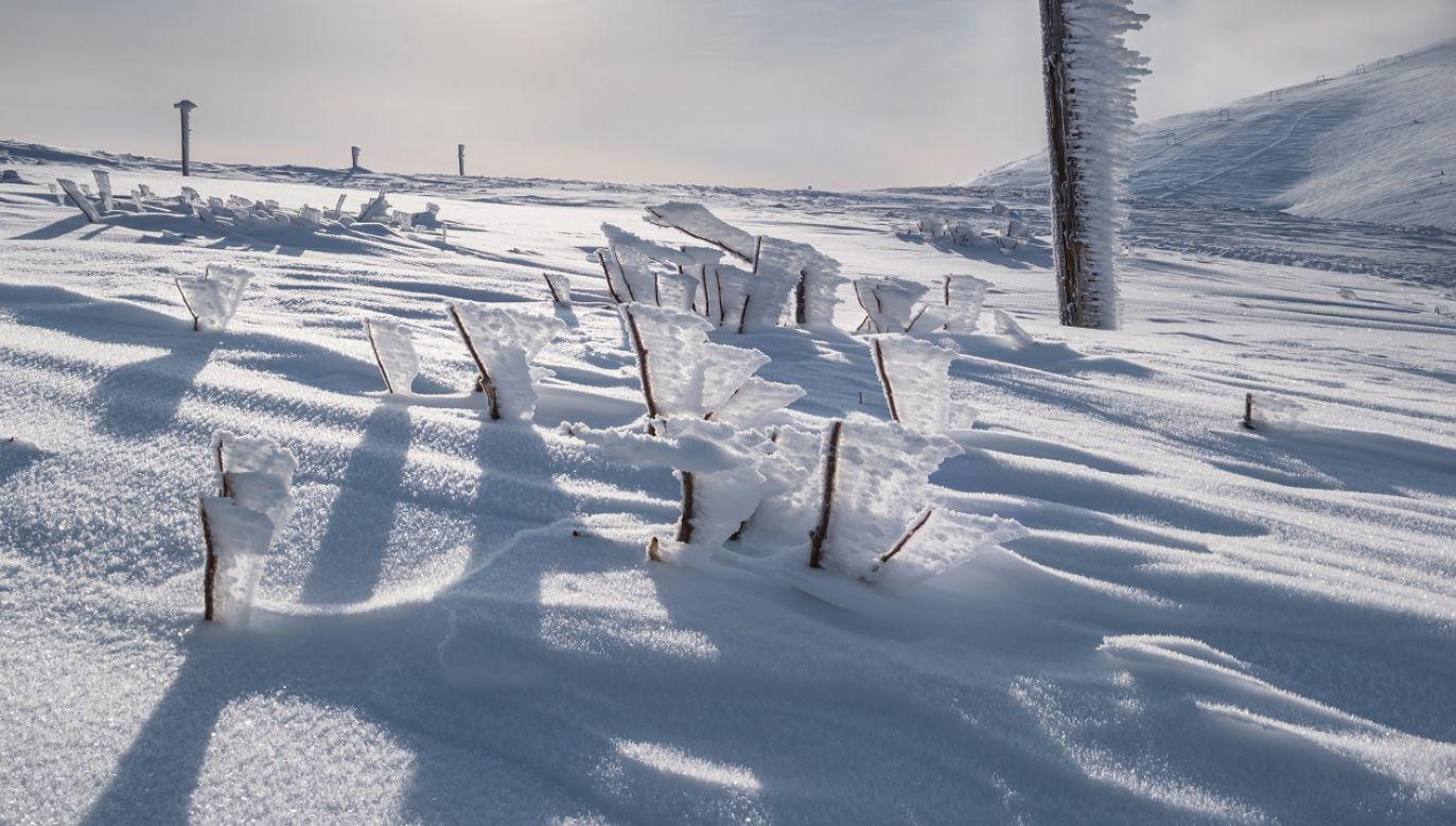 W górach może spaść śnieg (fot. Shutterstock)