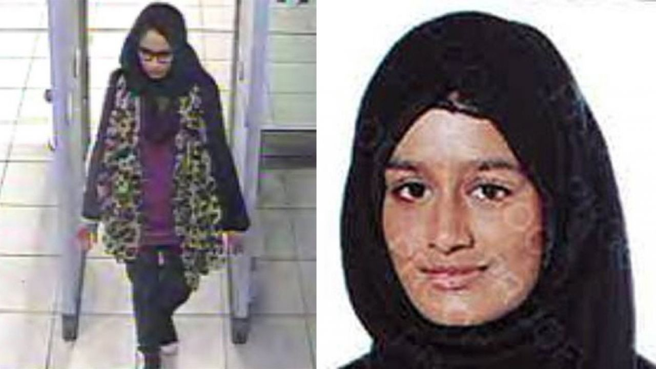 Shamima Begum (fot. PAP/EPA/LONDON METROPLITAN POLICE / HANDOUT)