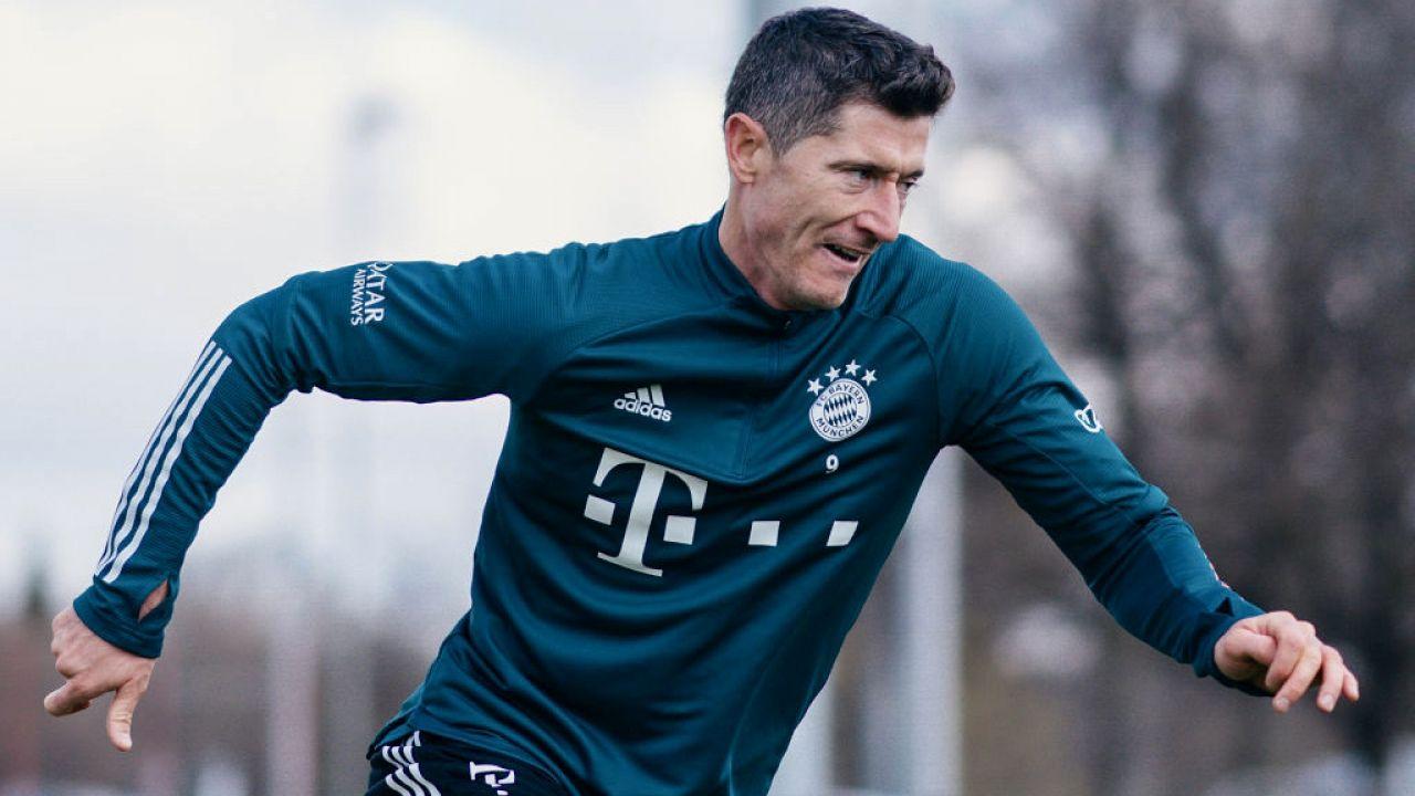 Robert Lewandowski jest coraz bliżej powrotu do gry (fot. M.Donato/FC Bayern/Getty Images)