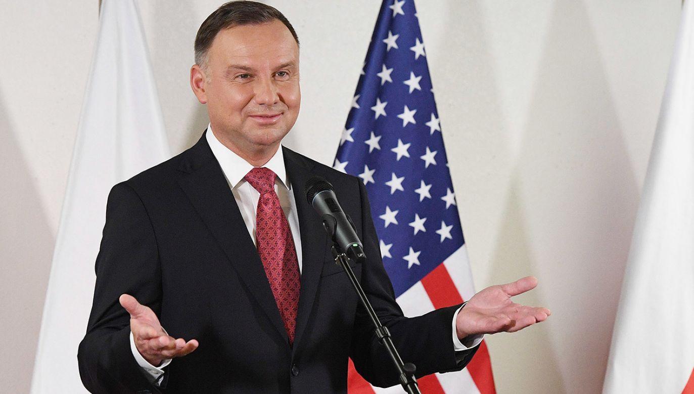 Uroczysta gala z udziałem prezydenta odbędzie się 19 czerwca (fot. PAP/Paweł Supernak)