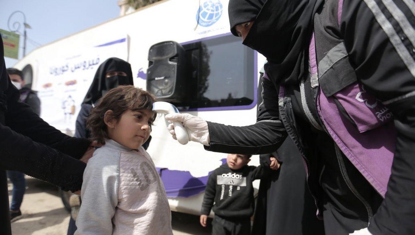 Pandemia nie tylko nie powstrzymała aktywności Państwa islamskiego ale spowodowała, że ataki Syrii i Iraku uległy intensyfikacji (fot. Muhammed Said/Anadolu Agency via Getty Images)