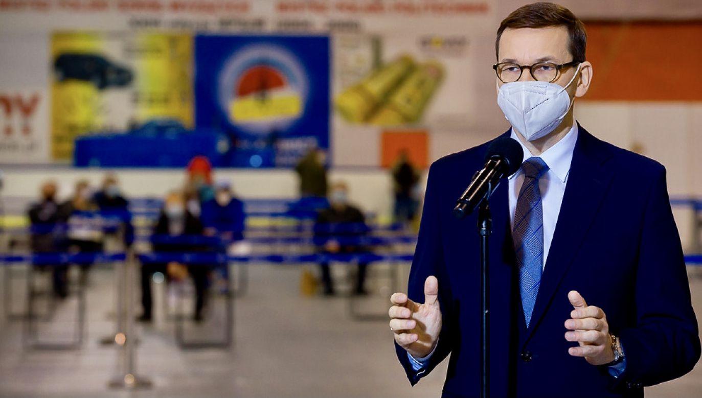 Premier zaapelował o sprawiedliwy system podatkowy (fot. Krystian Maj/KPRM)
