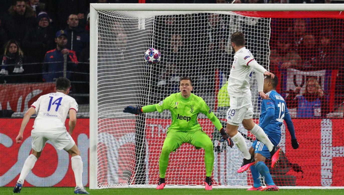 Juve – Lyon (fot. Getty Images)