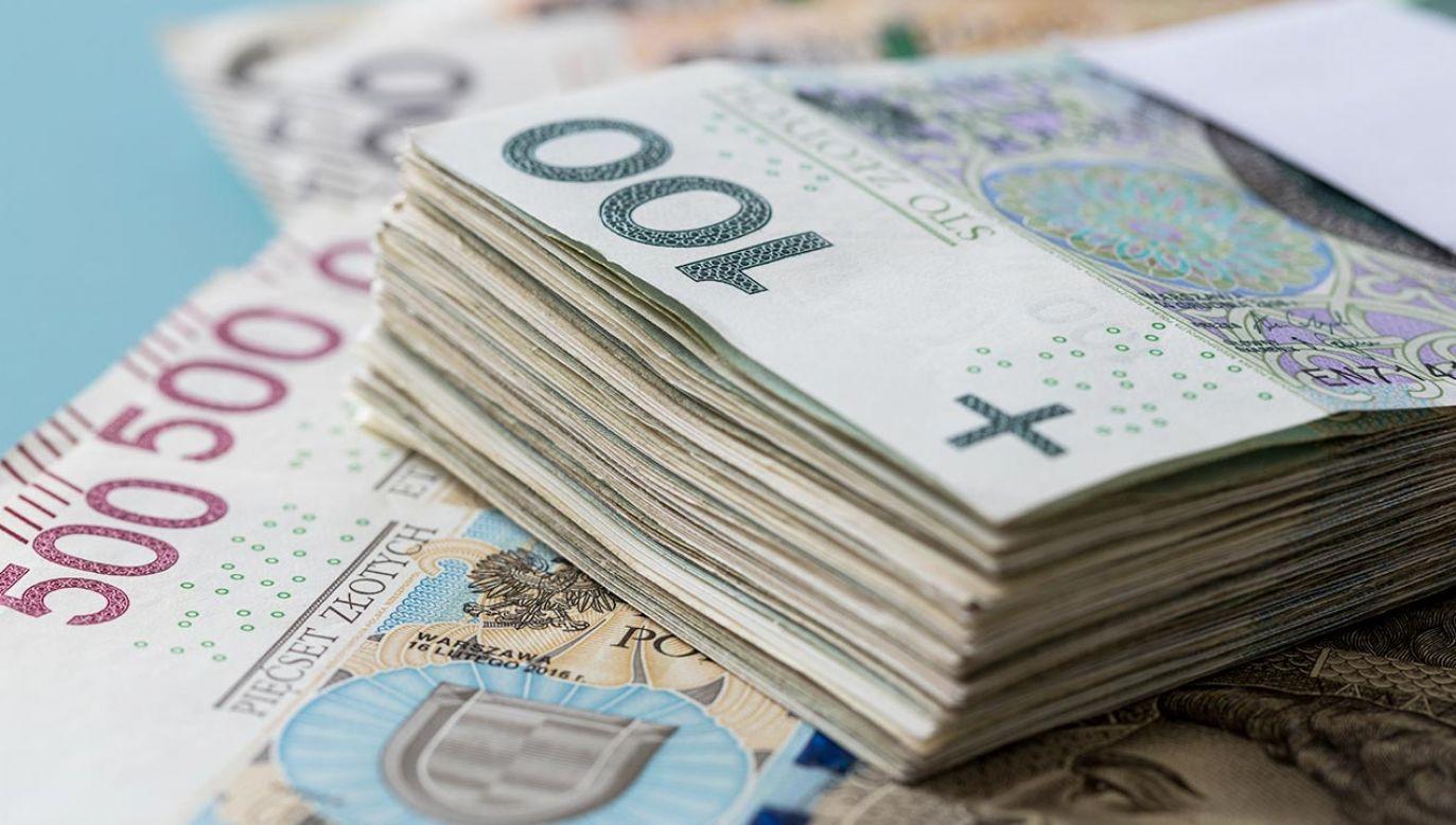 Znalazł dużą sumę pieniędzy (fot. Shutterstock/Andrzej Rostek)