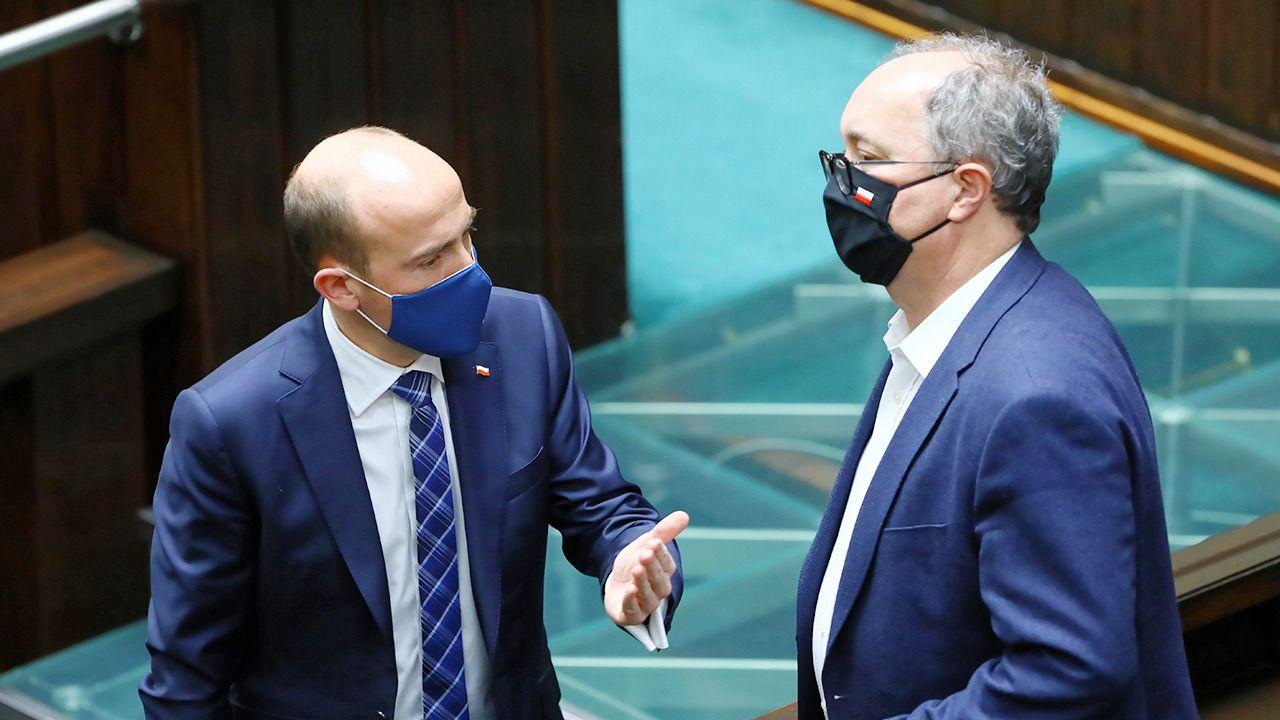 Czy Borys Budka przekona jednak do siebie Lewicę Włdzimierza Czarzastego? (fot.  PAP/Rafał Guz)