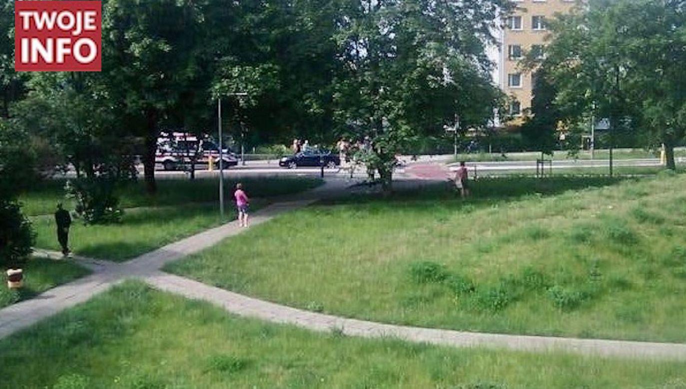 Poszkodowany 12-latek trafił do szpitala (fot. Twoje Info)