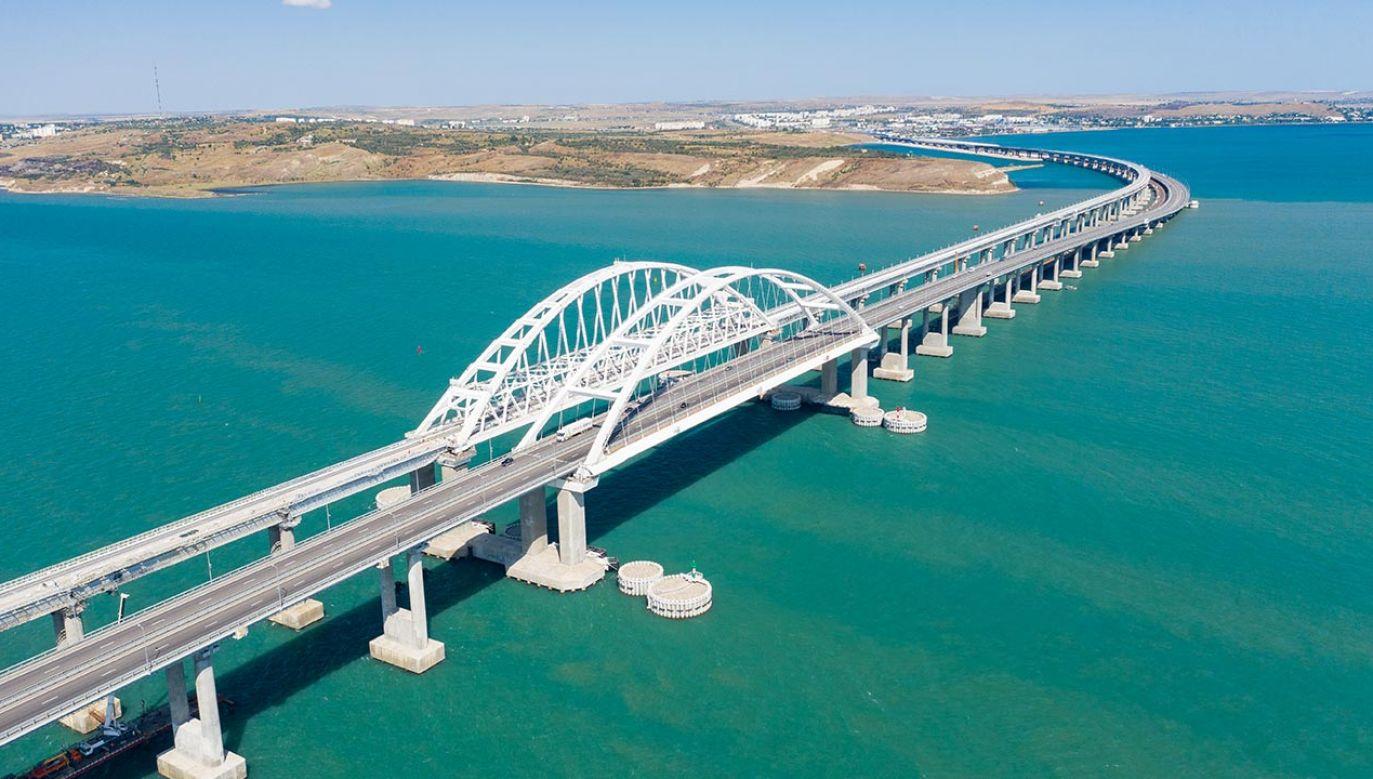 Most nad Cieśniną Kerczeńską (fot. Shutterstock/Budilnikov Yuriy)